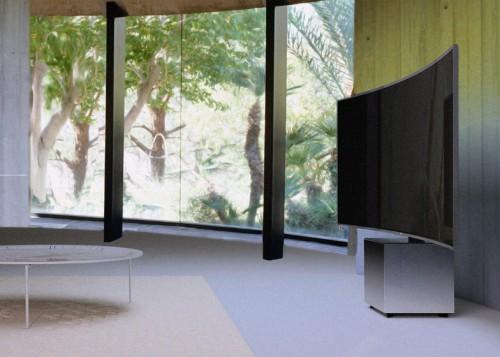 размещение телевизора samsung-s9w-tv