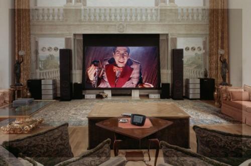 домашний кинотеатр в частном доме