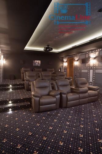 система управления светом в домашнем кинозале