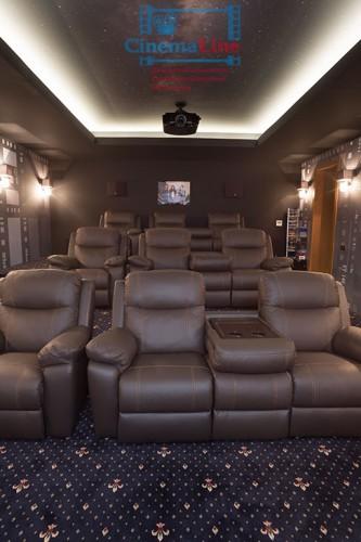 моторизированные кресла для домашнего кинотеатра