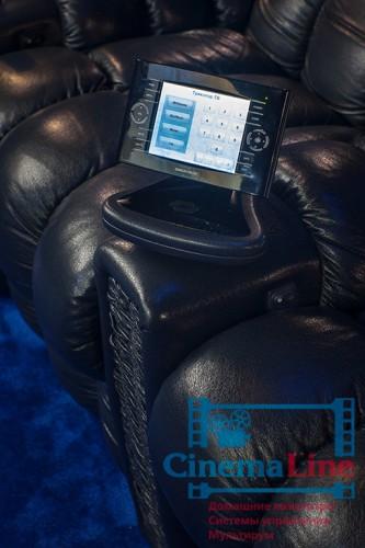 панель управления креслами для домашнего кинотеатра