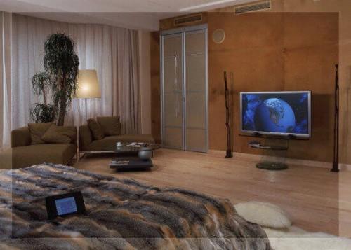 система умный дом комната