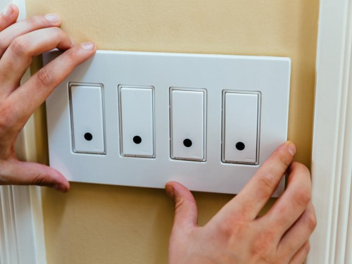 выключатели для системы освещения умного дома