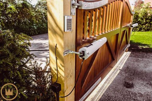 блок дистанционного управления воротами умного дома