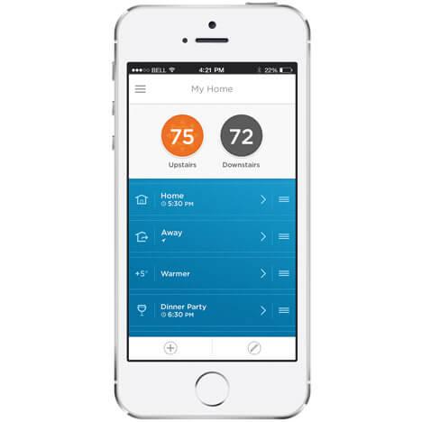 приложение для умного термостата liric
