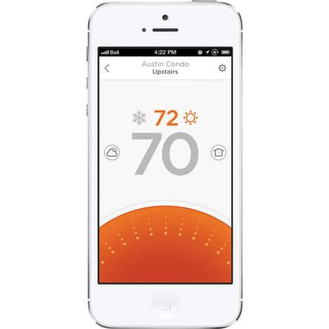 приложение умного термостата liric для системы умный дом