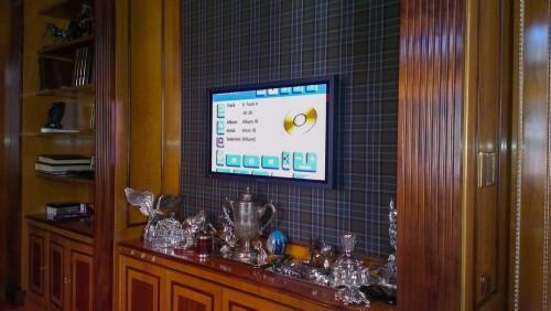размещение телевизора для мультирума