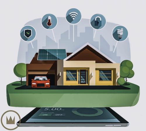 схема энергосбережения умного дома