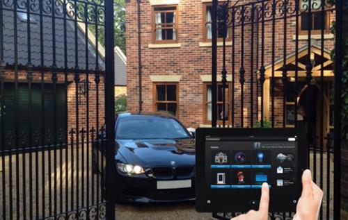 система управления воротами умного дома