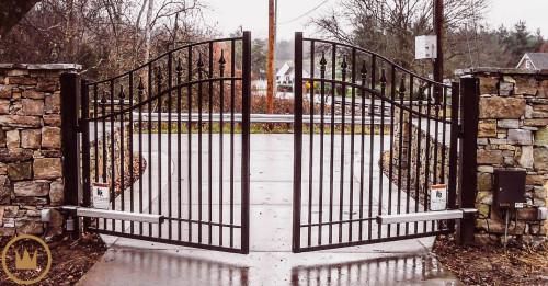 ворота с дистанционным управлением в умном доме