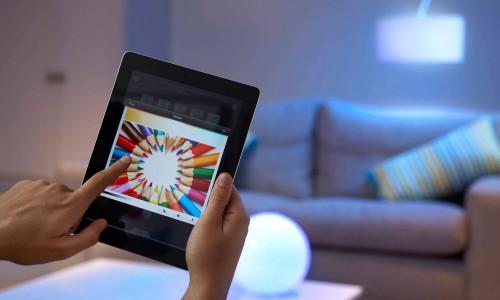 регулирование освещения в умном доме