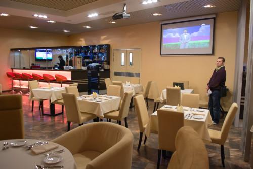 персональный кинозал в ресторане city tower