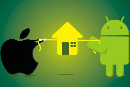 управление умным домом с телефона и планшета