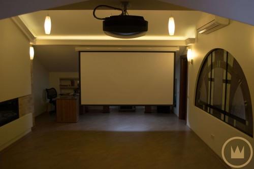 домашний кинотеатр хай фай в таунхаусе от элит технолоджи