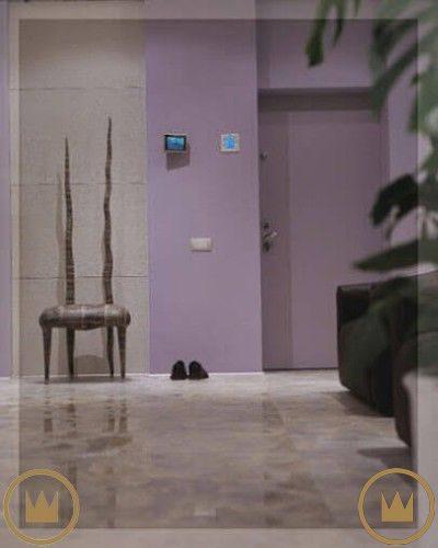 вход в квартиру с домашним кинотеатром и умным домом от элит технолоджи