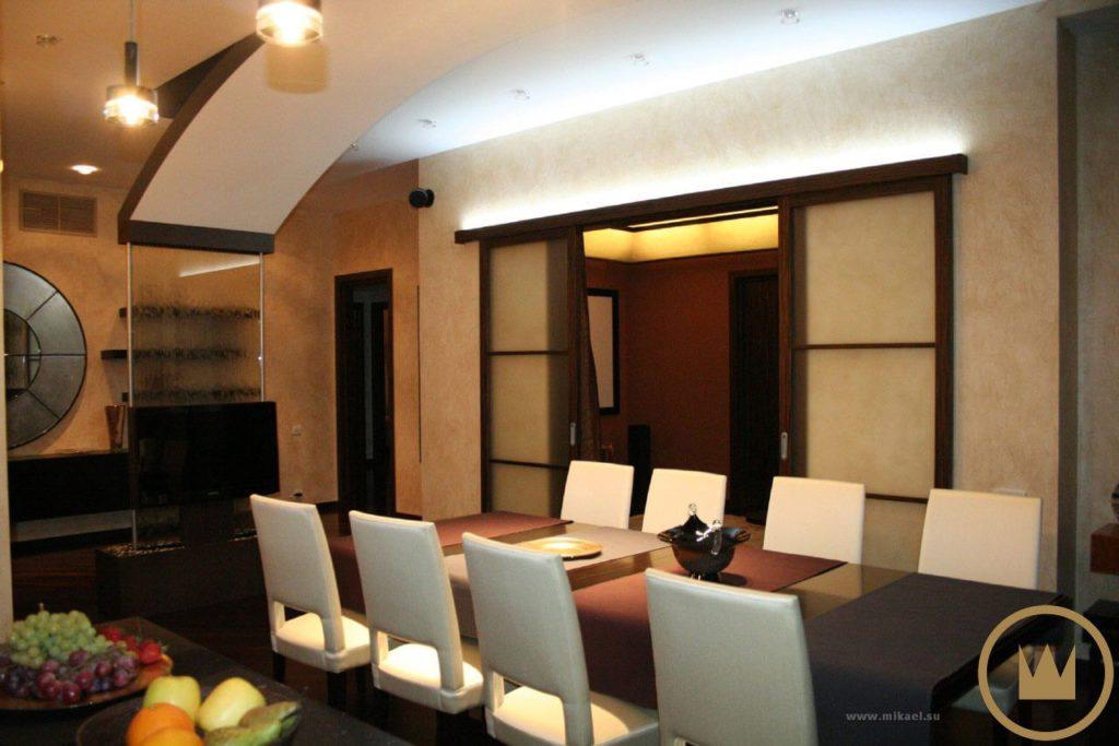 система умный дом с домашним кинотеатром в квартире